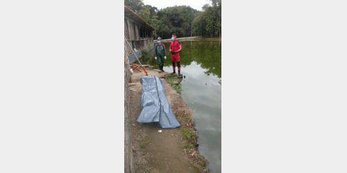 Homem morre em lago no parque da Festa do Colono em Agrolândia