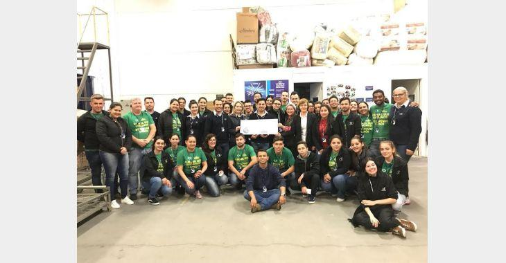 Hospital Bom Jesus recebe R$ 27 mil com 'Troco Solidário HAVAN'