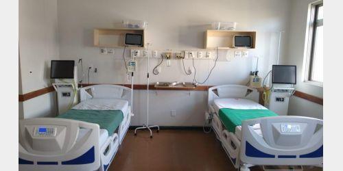 Leitos da Unidade de Terapia Intensiva do Hospital Regional destinados para Covid-19 são reabilitados