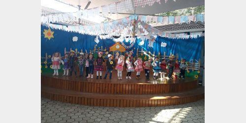 Luciane Haverroth arrecada mais de R$ 40 mil com Festa Junina