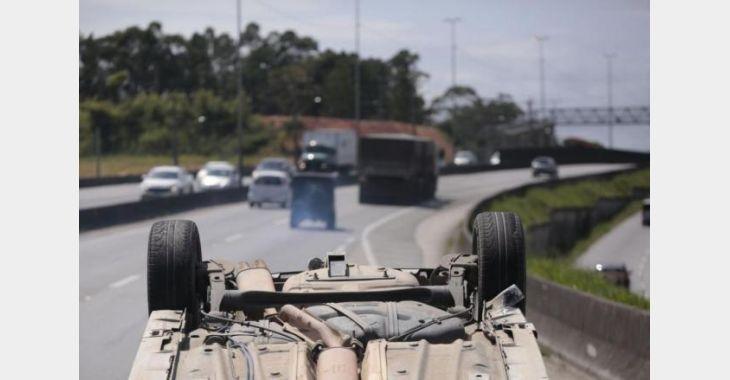 Mais de 2,7 mil morreram em ocorrências de trânsito em SC nos últimos dois anos