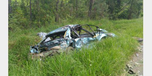 Acidente mata uma pessoa na BR-470, em Pouso Redondo