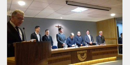 Aula inaugural do Curso de Medicina da Unidavi foi realizada, em Rio do Sul