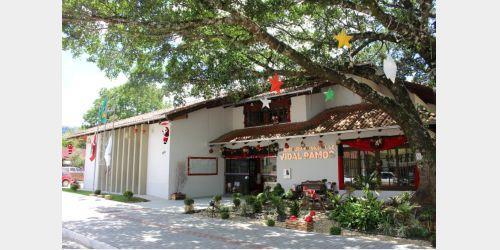 Decoração natalina será inaugurada neste sábado em Vidal Ramos