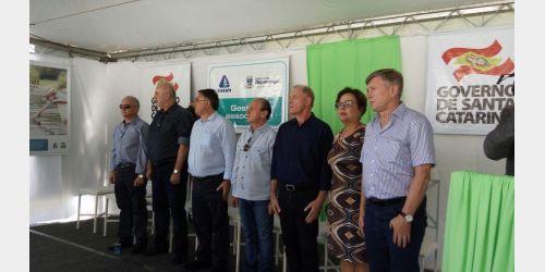 Inauguradas obras de ampliação do Sistema de Abastecimento de água da Casan em Ituporanga