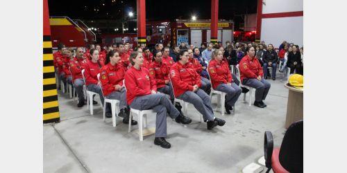 Instrutores e Bombeiros Voluntários de Presidente Getúlio participam de Capacitação durante seis meses