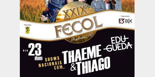 Organização da FECOL de Agrolândia decide que shows nacionais serão gratuitos