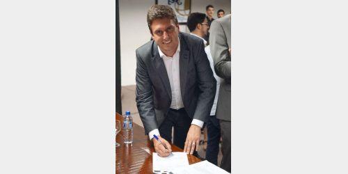 Prefeito de Rio do Sul protocola em Brasília projeto para construção do anel viário Ituporanga