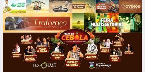 Seminário da Agricultura Familiar será realizado no segundo dia da Festa da Cebola