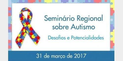 Seminário Regional sobre o Autismo será realizado nesta sexta em Rio do Sul