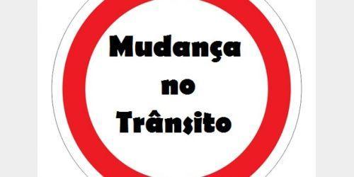 Transito será alterado  no centro de Ituporanga