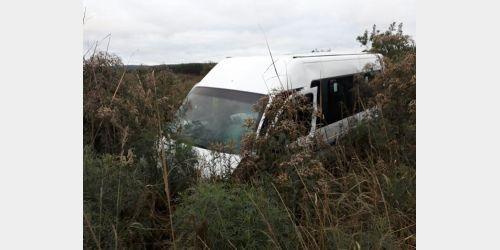 Veículo da Saúde de Salete se envolve em acidente, em Otacílio Costa