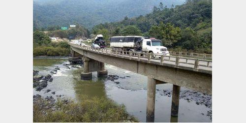 Obras em ponte entre Ibirama e Apiúna deverão ficar para 2019