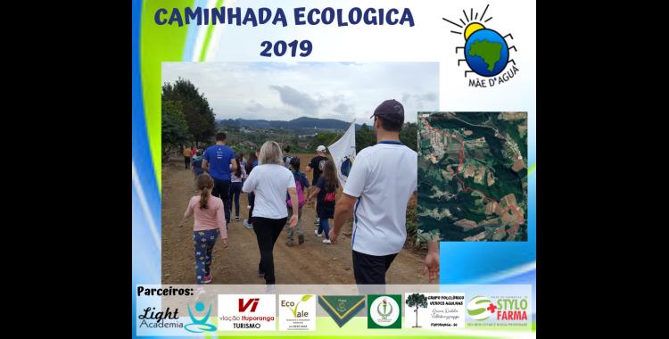 ONG Mãe d'Água promove caminhada ecológica em Ituporanga