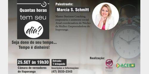 Palestra marca o lançamento do Núcleo da Mulher empreendedora em Ituporanga