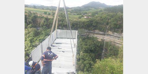 Passarela de vidro em Chapadão do Lageado será primeira do Alto Vale
