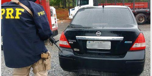 Polícia Rodoviária Federal apreende cocaína na BR 282 em Rancho Queimado