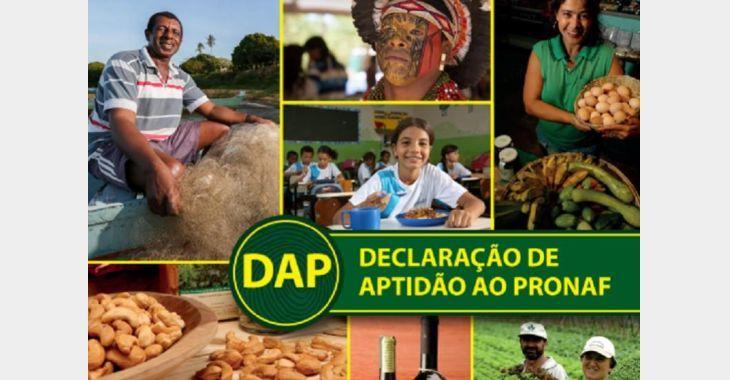 Portaria altera prazo de validade da DAP – Declaração de Aptidão ao Pronaf