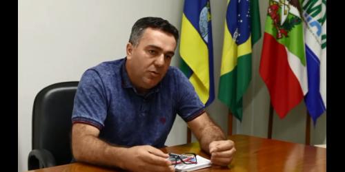 Prefeito de Vidal Ramos está internado com suspeita de COVID