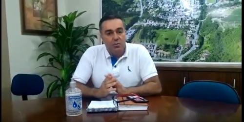 Prefeito de Vidal Ramos relata que está bem depois de ter ficado internado por conta da COVID-19