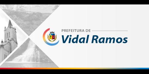 Presidente da Câmara de Vereadores assume administração de Vidal Ramos