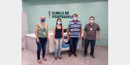 Presidente Nereu faz parceria com curso de Fisioterapia da Unidavi para reduzir fila de espera