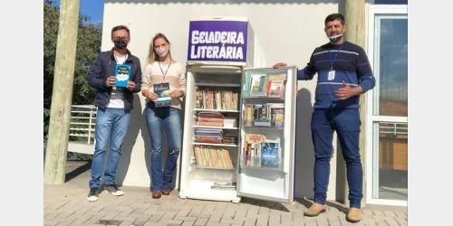 Projeto Geladeira Literária incentiva leitura em Ituporanga