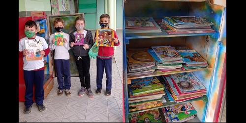 Projeto Gelotéca promove doação de livros em Petrolândia