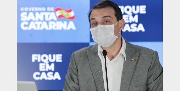Regionalização de ações contra a Covid-19 em SC começará a valer no dia 8 de junho, anuncia governador