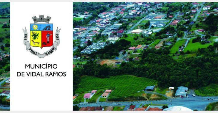 Vidal Ramos investe em nova rede de água para melhorar distribuição